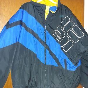 Columbia like new men's puffer coat
